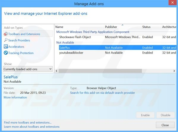 How to uninstall Ads by SalePlus - Virus removal instructions (Updated)