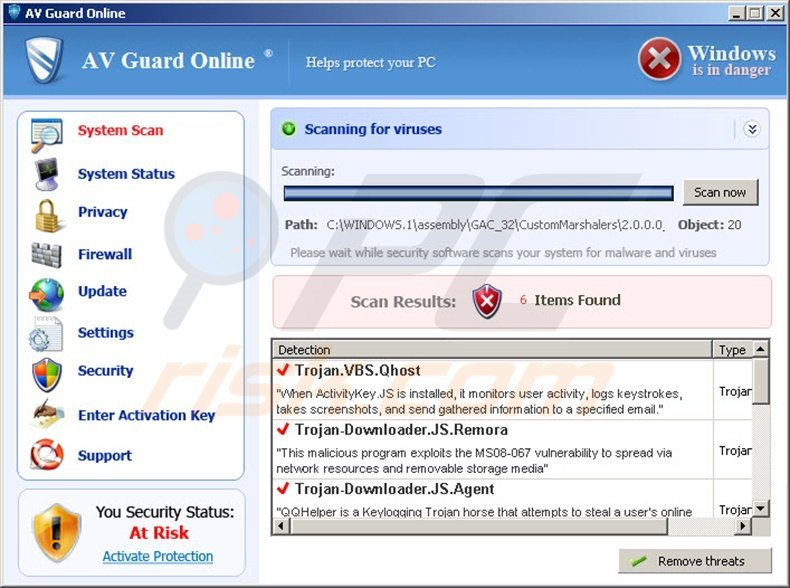 How to remove AV Guard Online virus - removal guide (updated)