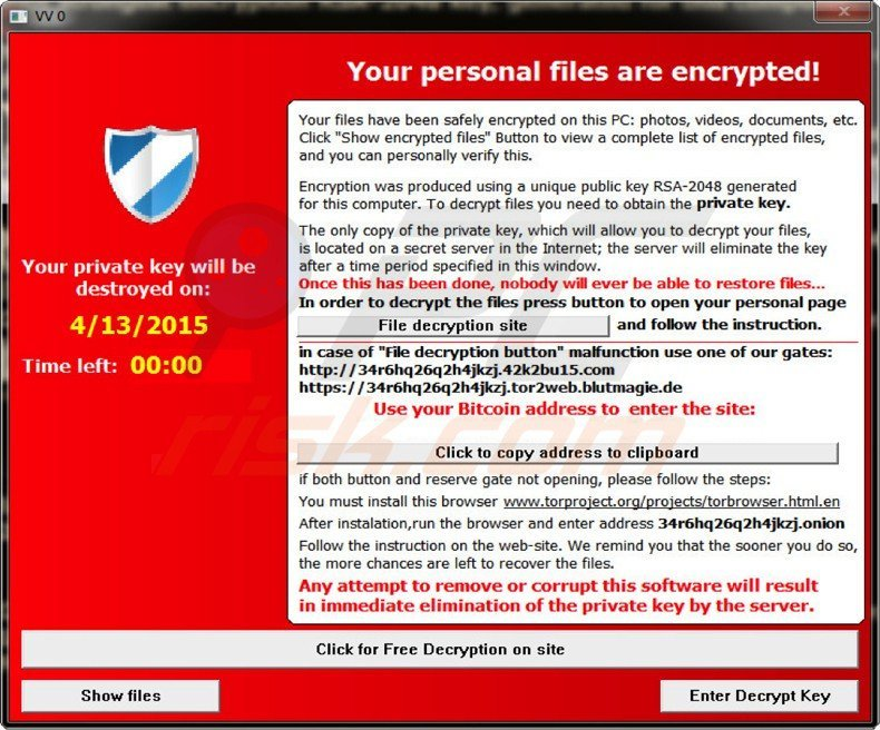 alpha crypt ransomware virus