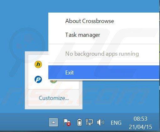 https://www.pcrisk.com/images/stories/screenshots201504/crossbrowser-close-app.jpg