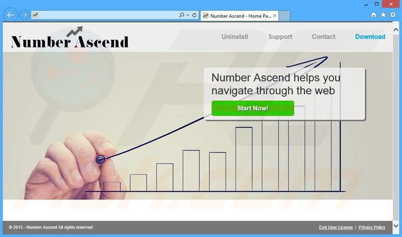 Number Ascend adware