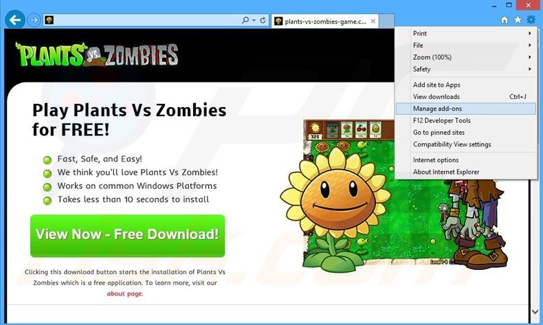 How to uninstall Plants Vs Zombies Adware - virus removal