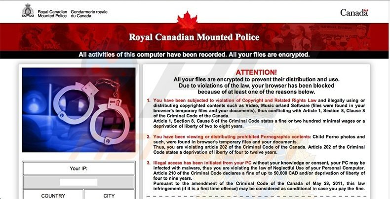 Canadian Police Association scam