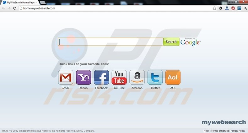 My Web Search Toolbar