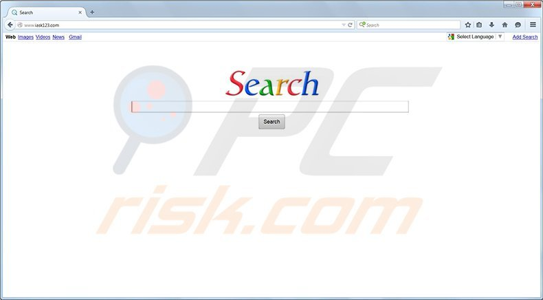 iask123.com browser redirect