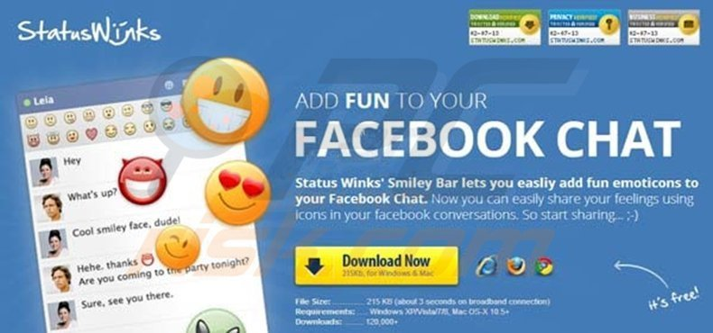 Smiley Bar for FaceBook