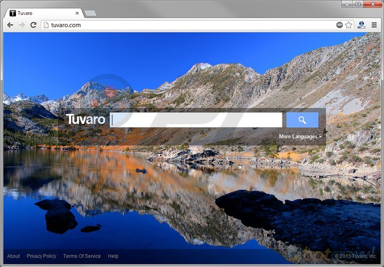 Tuvaro.com redirect homepage
