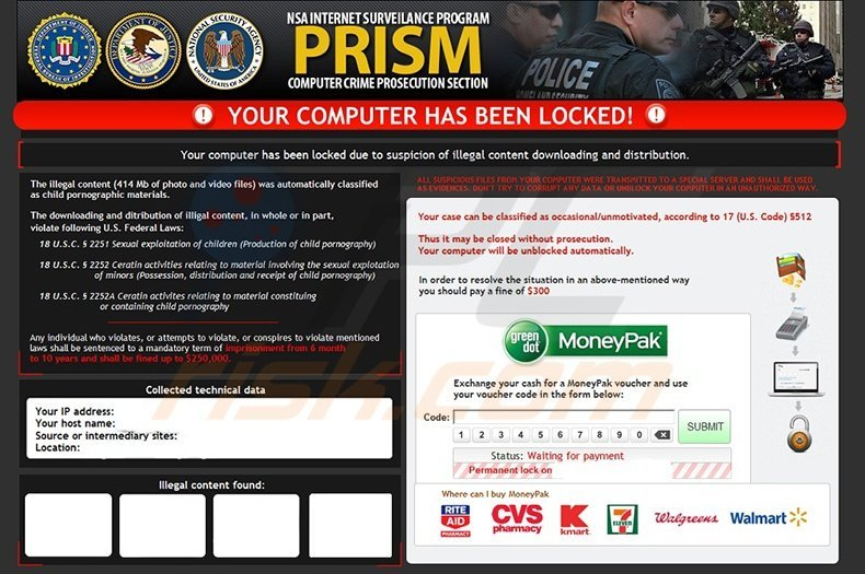 PRISM ransomware virus