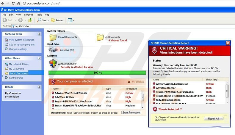 How to remove XP Micro Antivirus Online Scan - removal guide