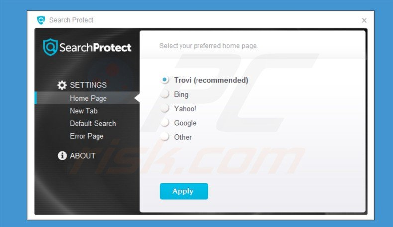 conduit search protect application