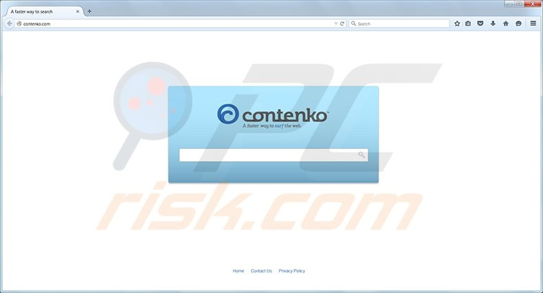 Contenko.com redirect virus
