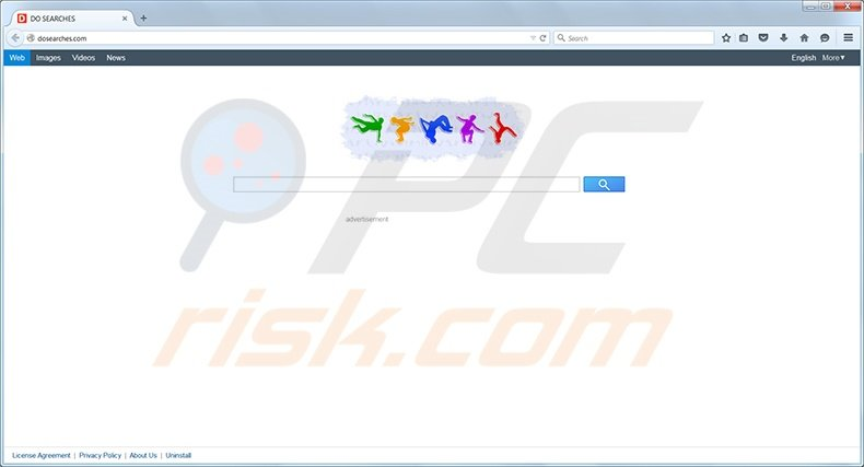 Dosearches virus homepage