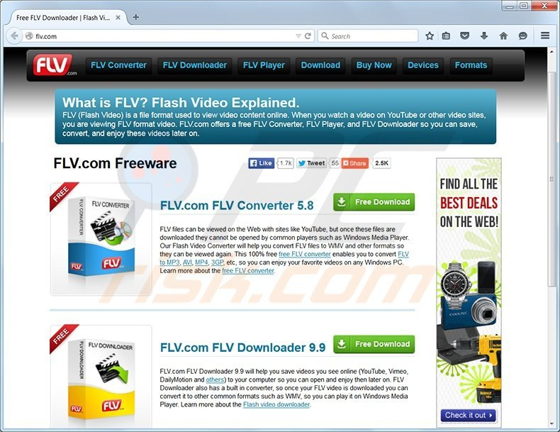 flv toolbar