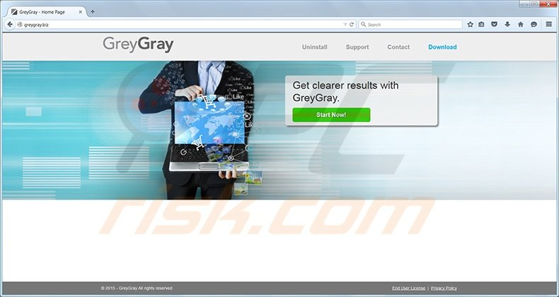GreyGray virus homepage