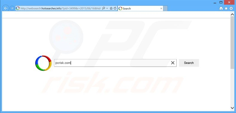 websearch.hotsearches.info browser hijacker