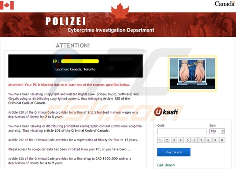 POLIZEI Cybercrime Investigation Department virus