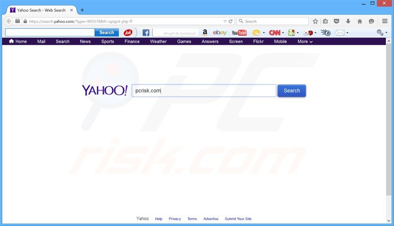 Search Yahoo Com Redirect
