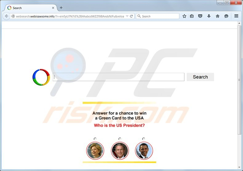 websearch.webisawsome.info redirect virus