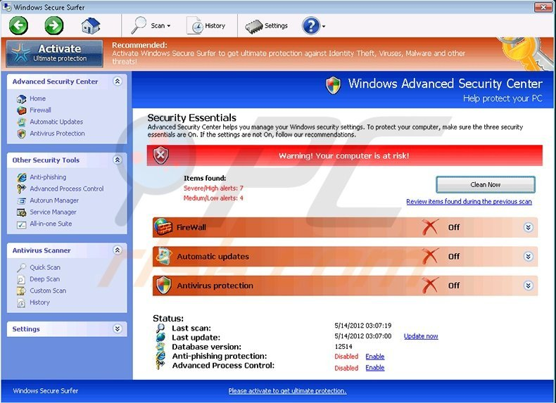 windows secure workshop screenshot