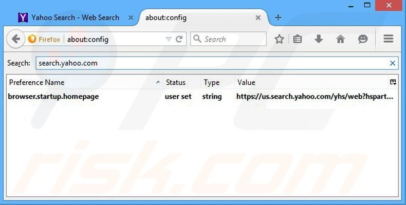 Removing ByteFence from Mozilla Firefox default search engine