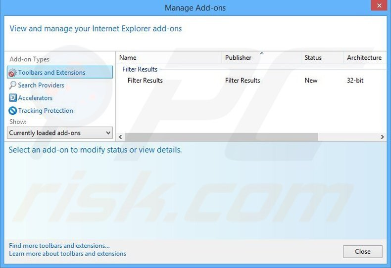Removing ByteFence related Internet Explorer extensions
