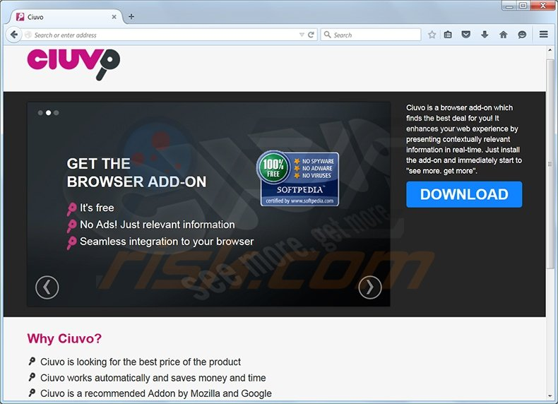 How to uninstall Ciuvo Ads - virus removal instructions (updated)