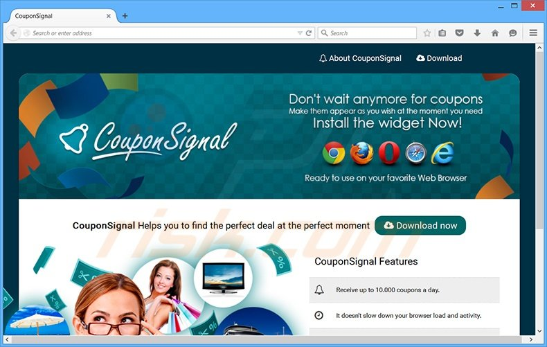 Discount coupons for signals
