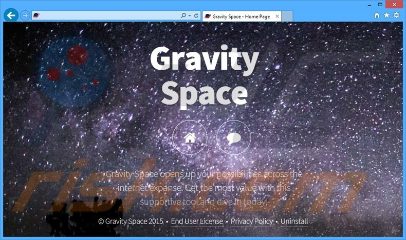 Gravity Space adware