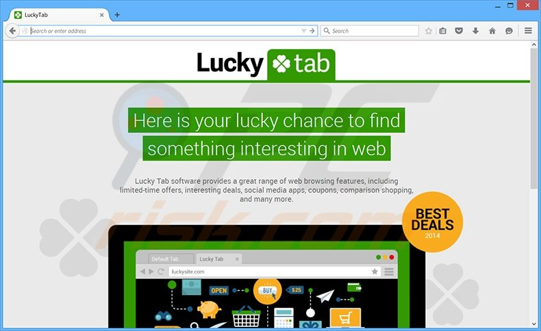 How to uninstall LuckyTab Adware - virus removal instructions (updated)