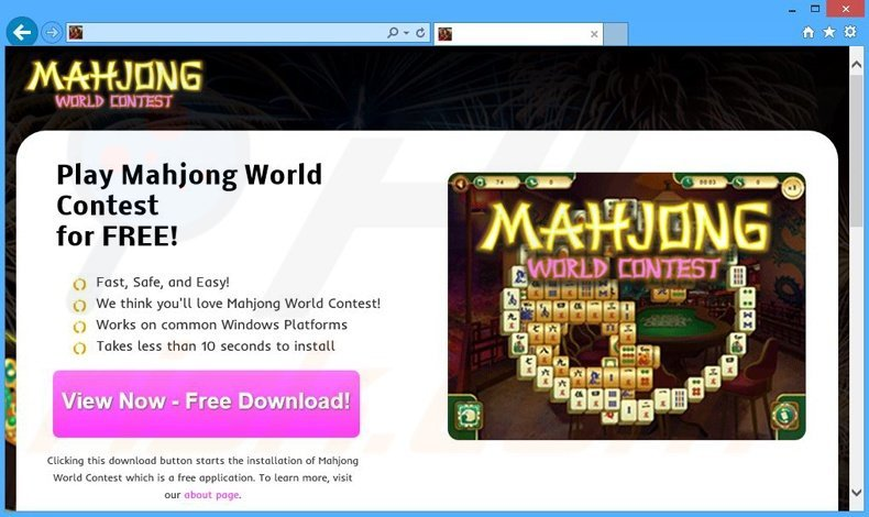 How To Uninstall Mahjong World Contest Ads Virus Removal Instructions