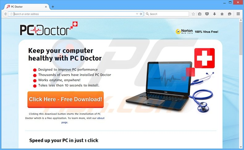 PC Doctor virus