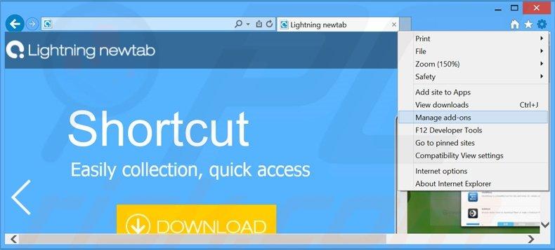 How to uninstall Lightning newtab Adware - virus removal