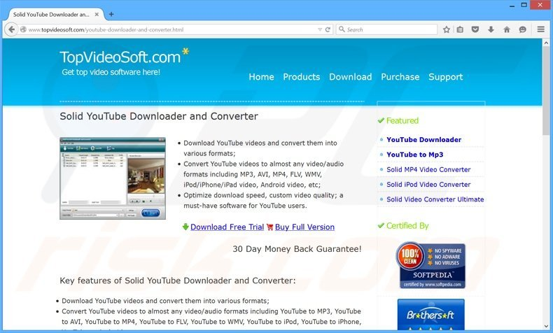 How to uninstall Solid YouTube Downloader Unwanted