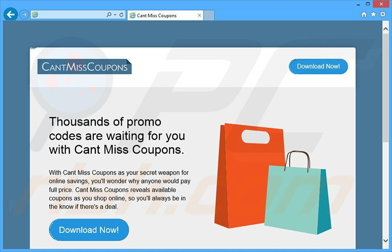 Cant Miss Coupons adware