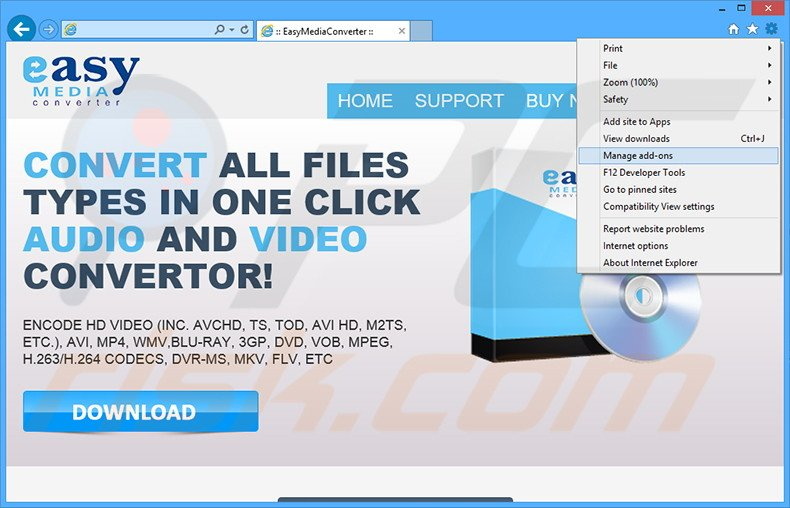 any video converter instructions
