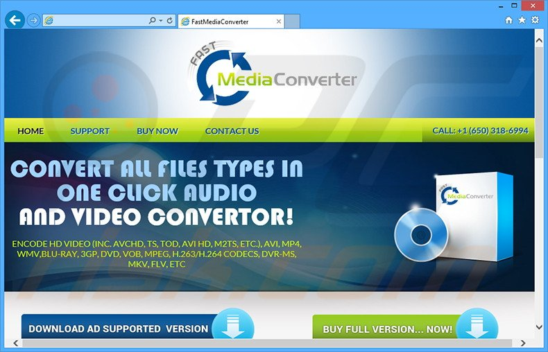 How to uninstall Fast Media Converter Ads - virus removal