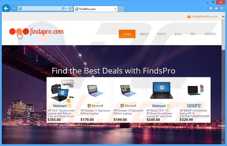 FindsPro adware