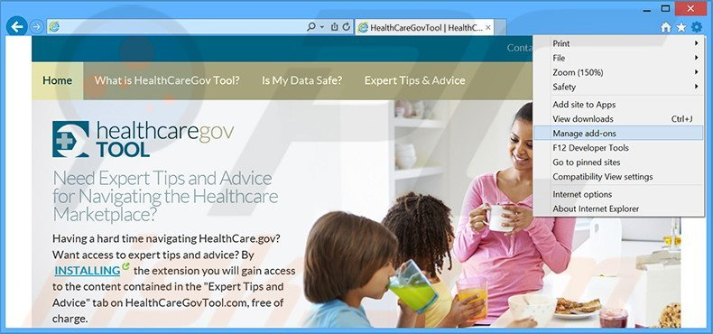 How to uninstall Healthcare Gov Tool Adware - virus removal