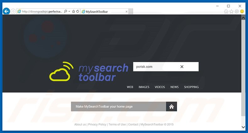 mysearchtoolbar.com browser hijacker