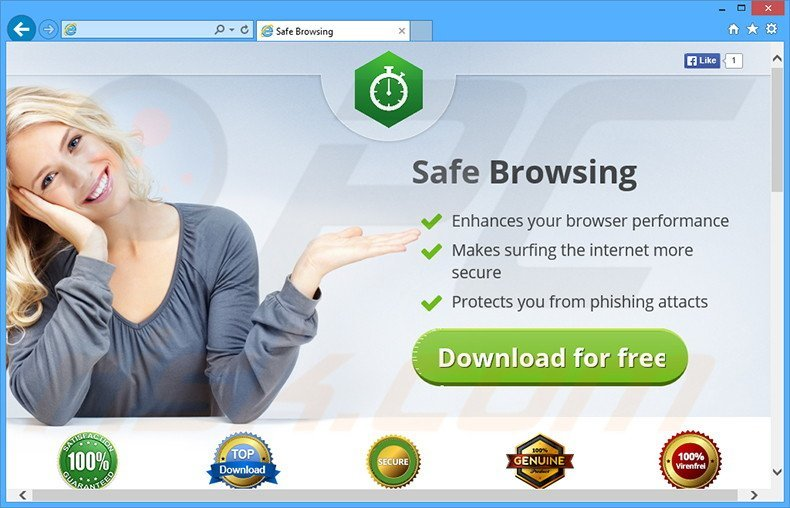 Safe Browsing adware