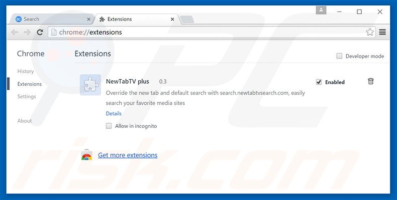 how to get rid of extensions in chrome mac