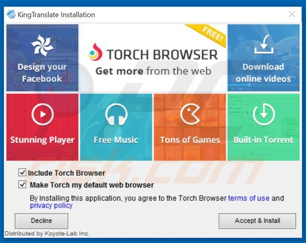 How to uninstall Torch Browser - virus removal instructions