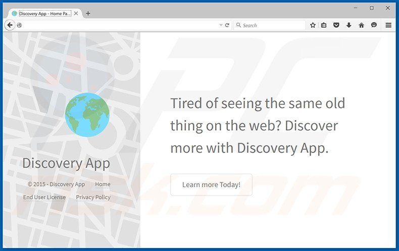 Discovery App adware