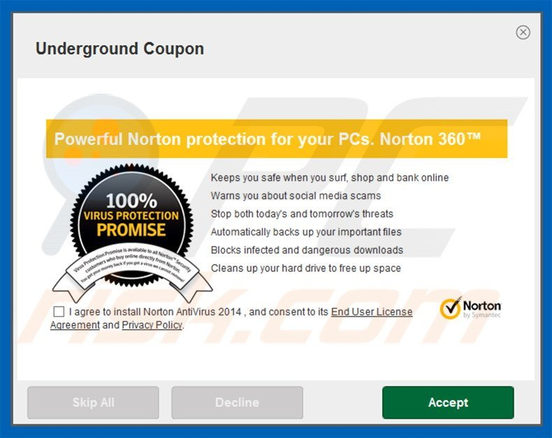 norton download manager keeps running
