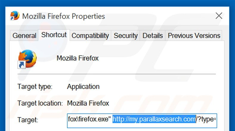 parallaxsearch how to get rid