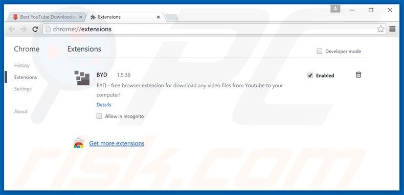 How to uninstall Best YouTube Downloader Adware - virus removal