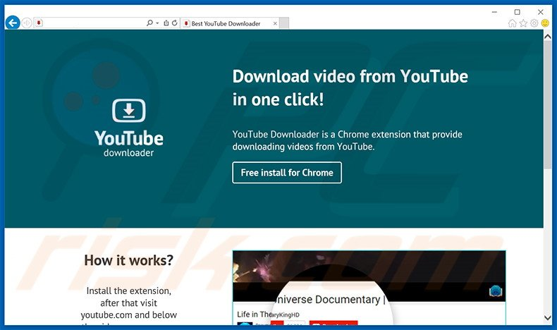 youtube downloader hd chrome extension