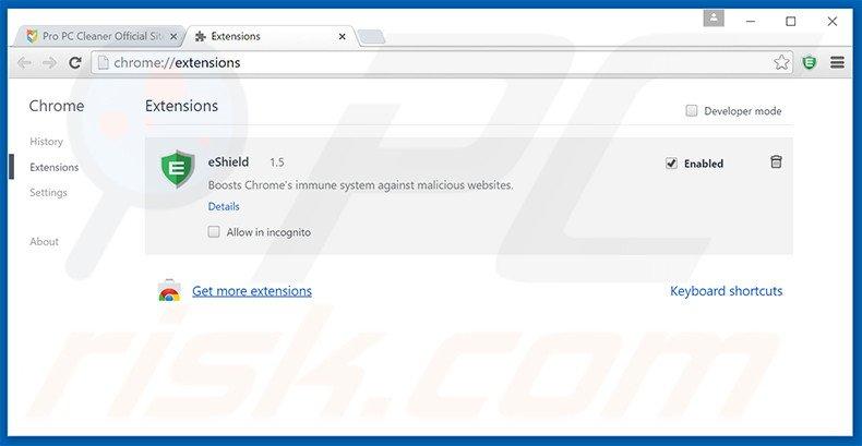 how to clean google chrome virus pc