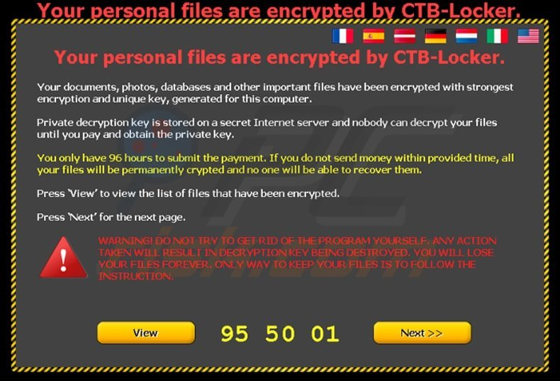 How to remove ctb locker ransomware updated virus removal steps ctb locker ransomware main window ccuart Gallery