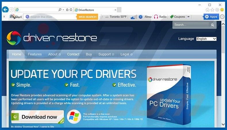 Driver Restore Software Download